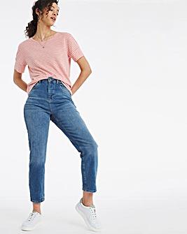 Stripe Mix T Shirt