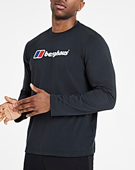 Berghaus Big Logo Long Sleeve T-Shirt