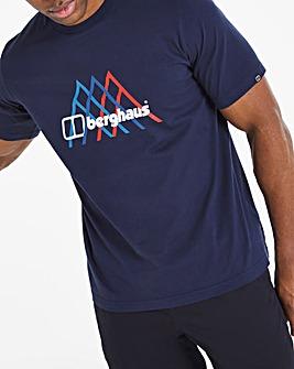 Berghaus Peak Fusion Grid Short Sleeve T-Shirt