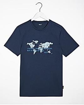 Jack Wolfskin Pack Away World T-Shirt