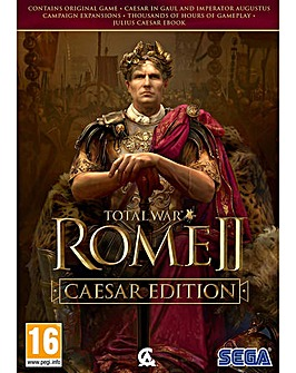 Total War Rome II Caesar Edition PC CD