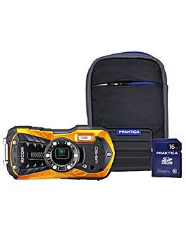 Ricoh WG-50 Waterproof Camera Kit