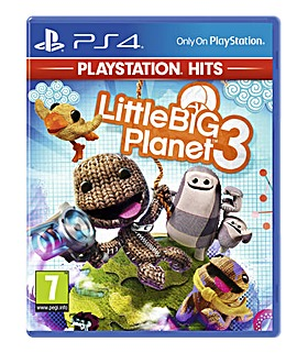 LittleBigPlanet 3 HITS Range PS4