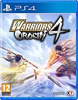 Warriors Orochi 4 PS4