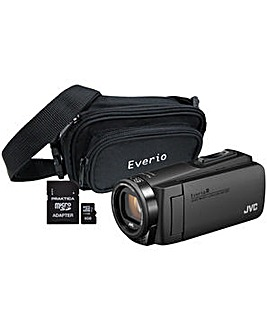 JVC GZ-R495 Quad Proof Camcorder Kit