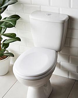 Aston Duroplast White Toilet Seat