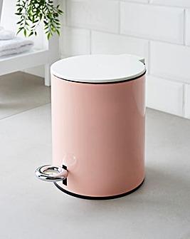 Natura 3L Soft Close Pink Pedal Bin