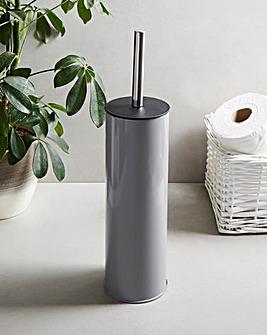 Natura Grey Toilet Brush & Holder
