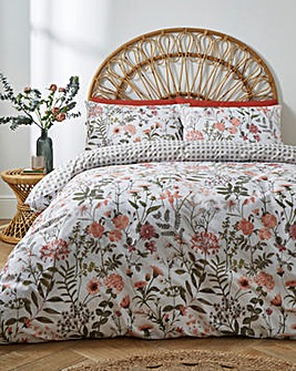 Vantona Secret Garden 180 Thread Count Duvet Cover Set