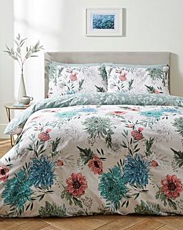 Vantona Floral Scent 180 Thread Count Duvet Cover Set