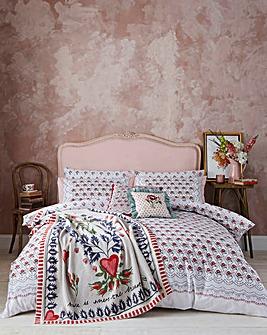 Cath Kidston Cherished 200 Thread Count Cotton Duvet Set