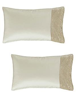 Amanda Holden Champagne Bubbles Pillowcases