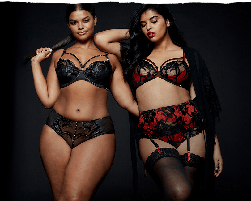 192b0b8a1988a It's all in the details when it comes to Figleaves Curve Racy lace and  silky satin give this supportive lingerie a luxurious feel.