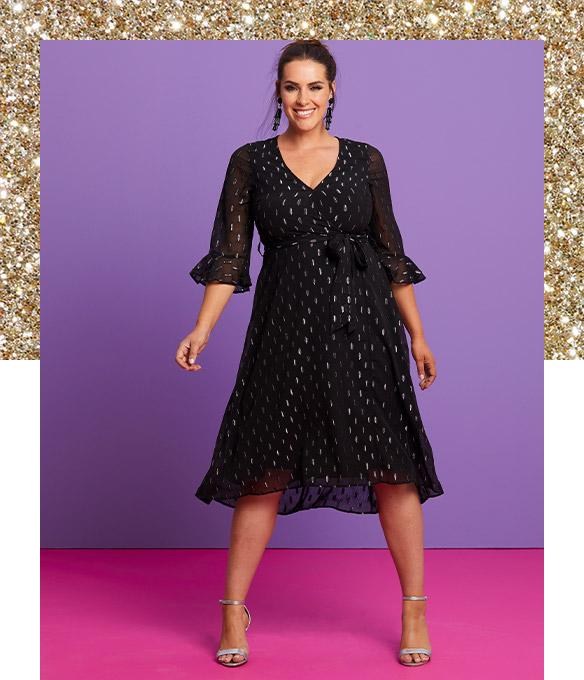 Plus Size Party Wear Party Outfits Dresses Tops Plus Size Clothing Online Catalogue Credit Website Nameoftitle
