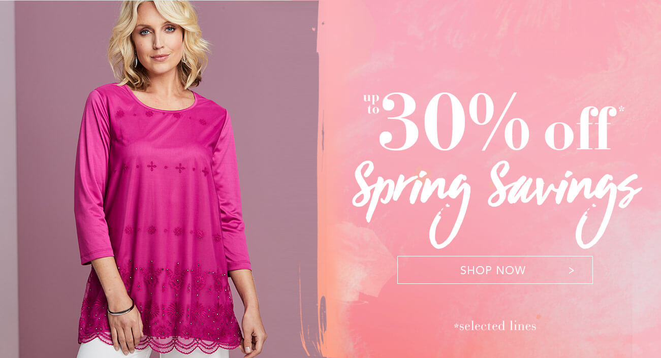 61dd053beb83 Up to 30% Off Spring Savings