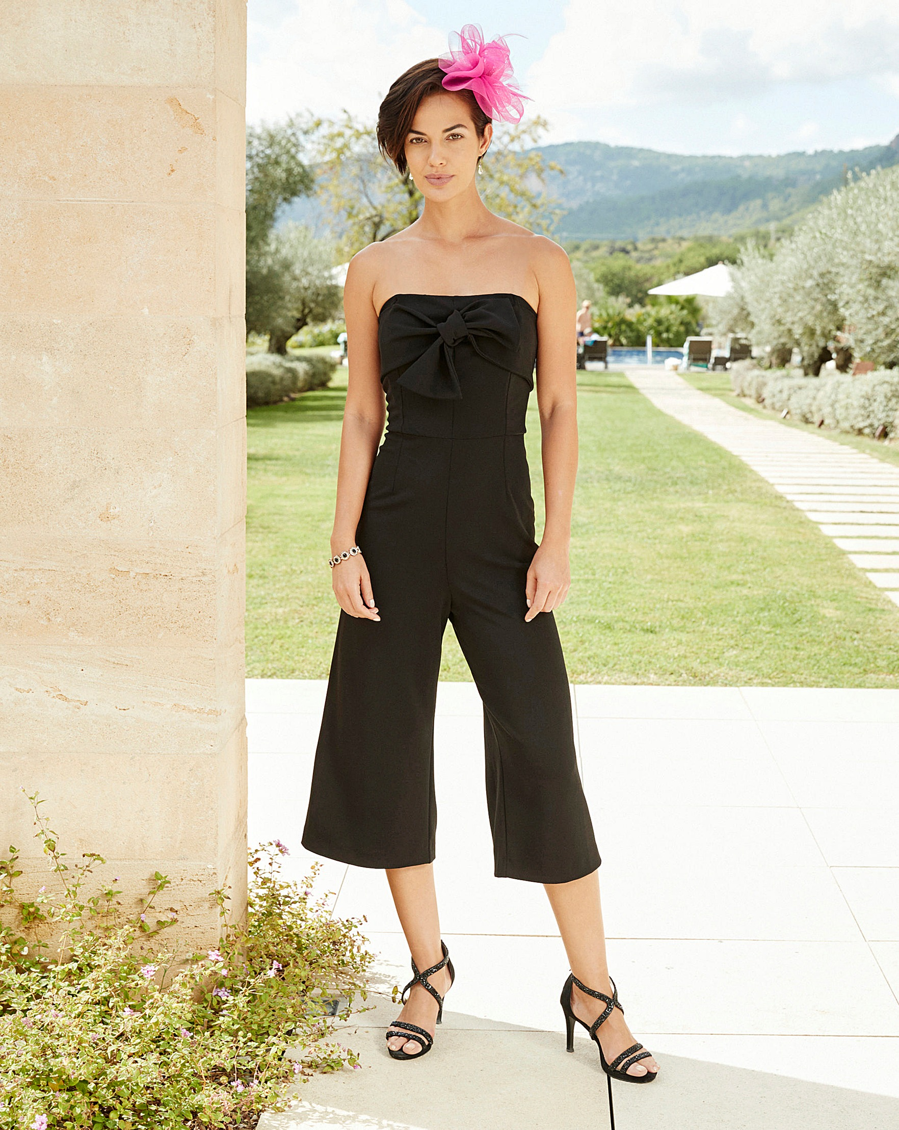 ad23d3398f5a Joanna Hope Bow Detail Jumpsuit