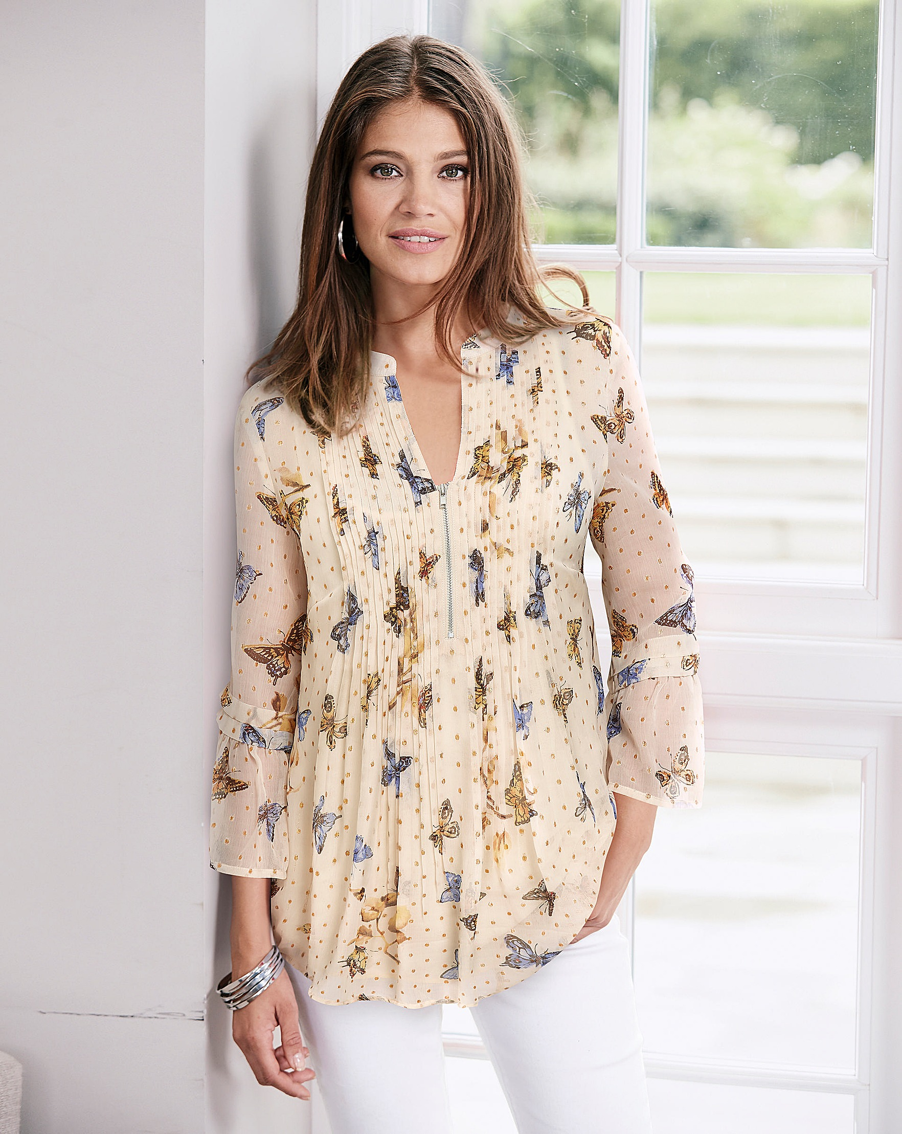 c914137f74a3 Together Butterfly Blouse | Oxendales