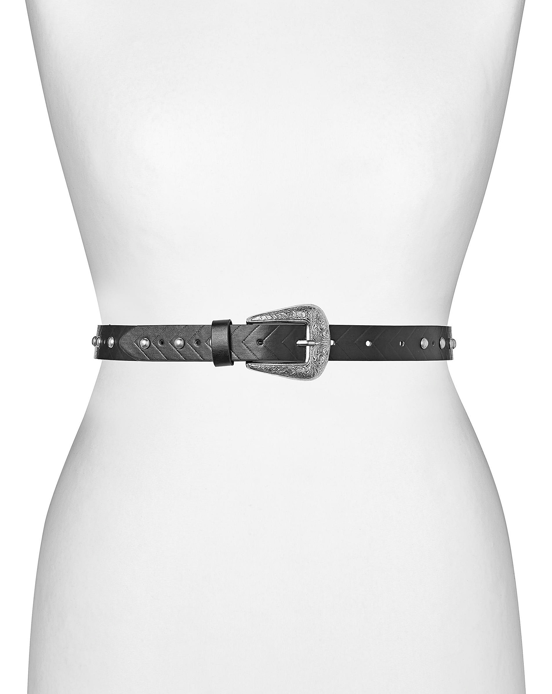 Buckle Stud Belt