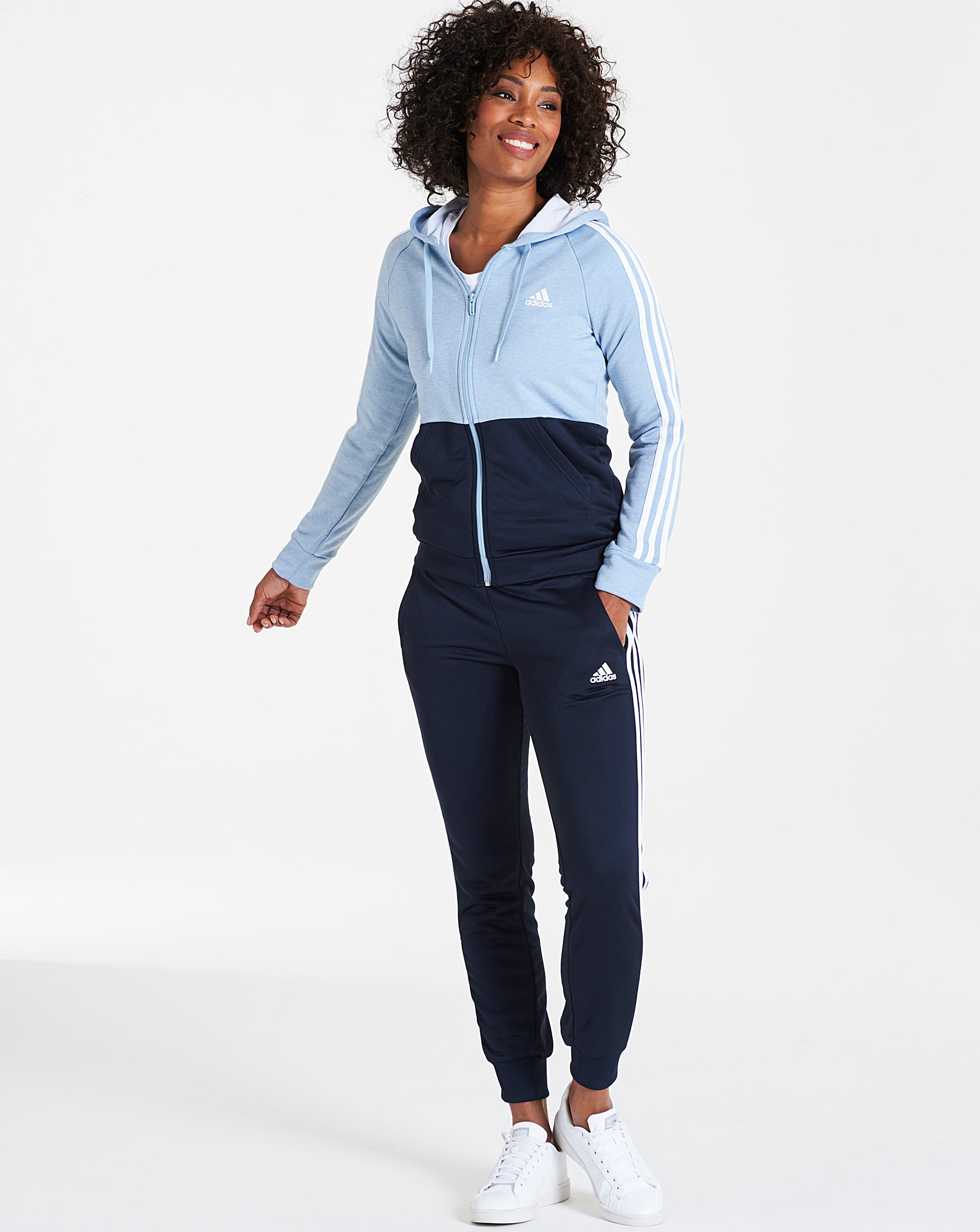 12709ff352c7 adidas Game Time Tracksuit | J D Williams