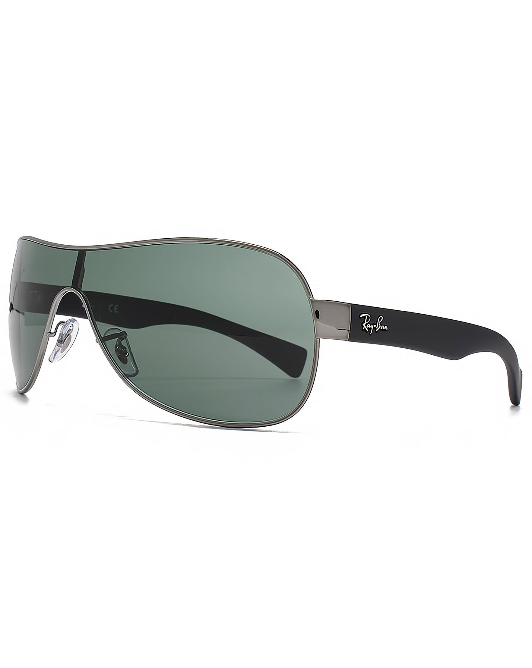 b380f81628 Ray-Ban Wrap Visor Sunglasses