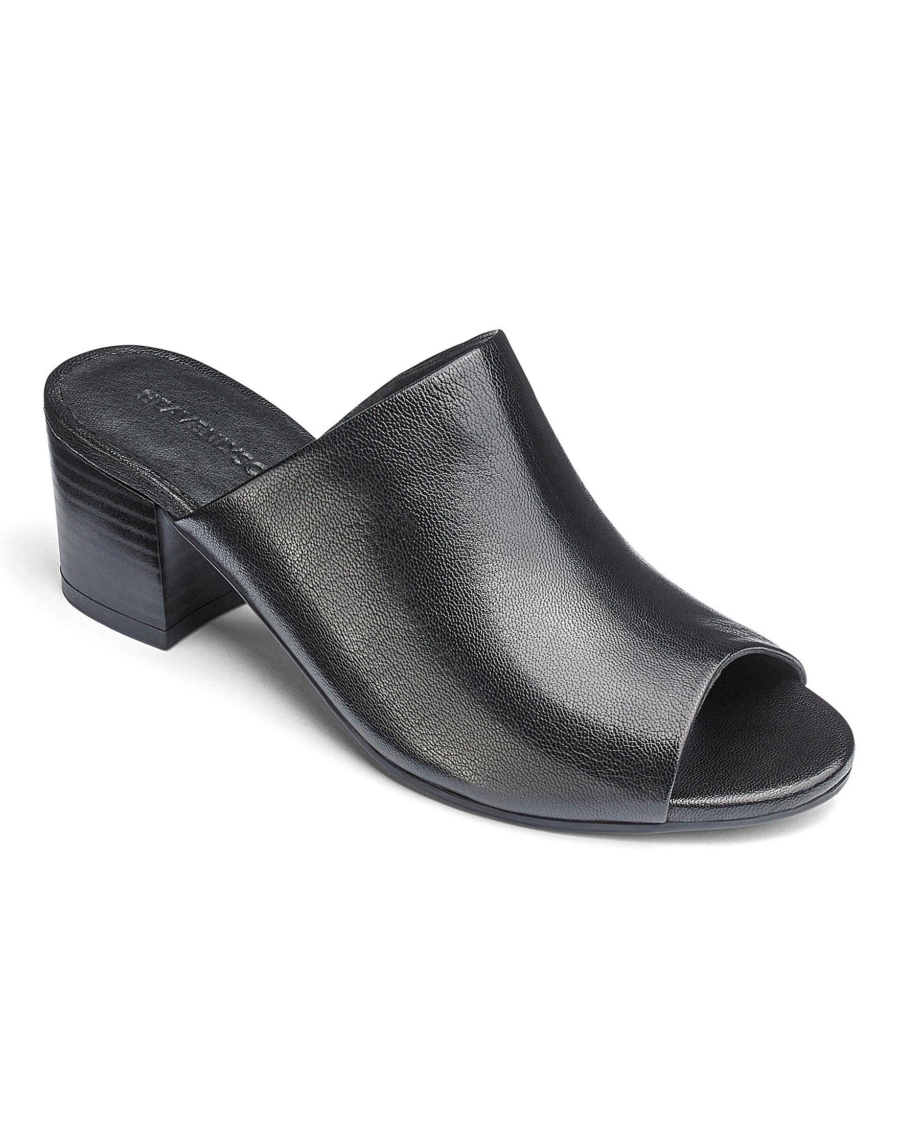51ecb10c8fa Slip On Leather Mules EEE Fit