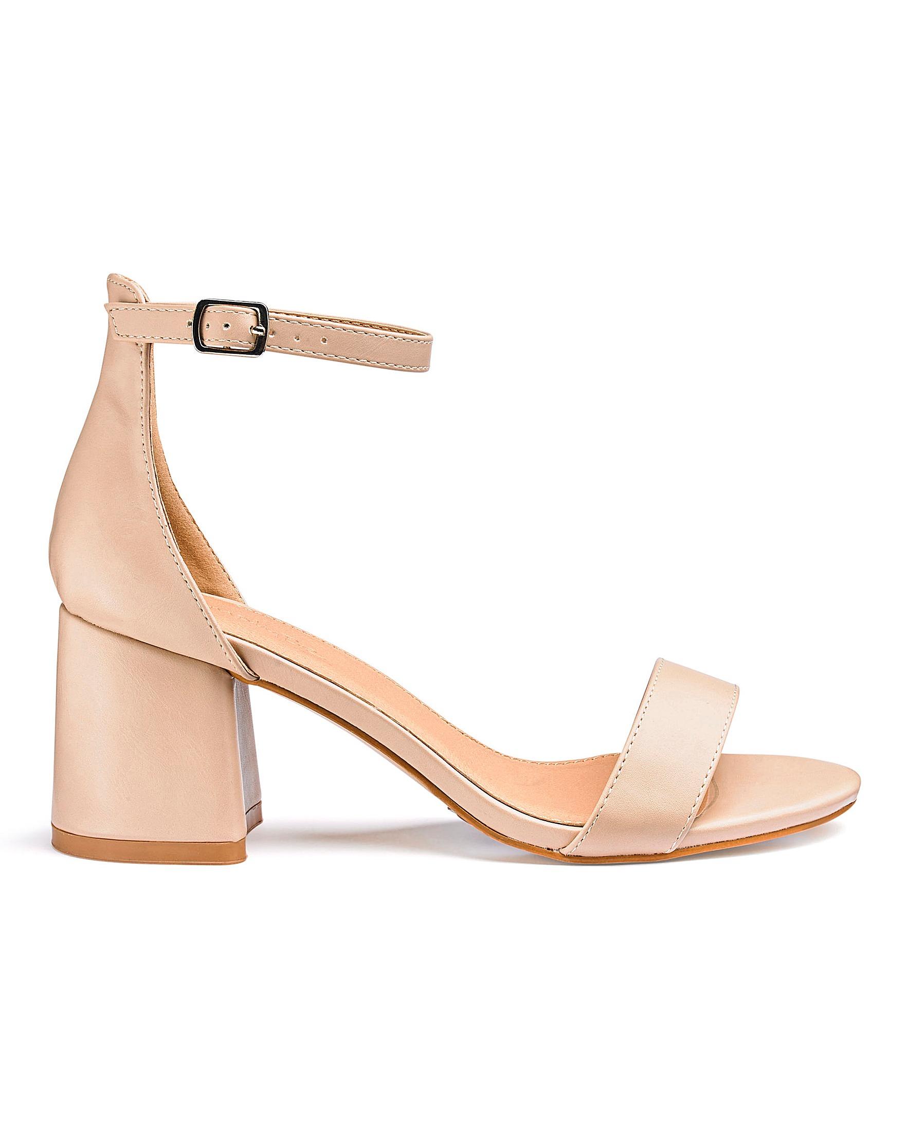 535da6d8933 Cammy Block Heels Extra Wide EEE Fit