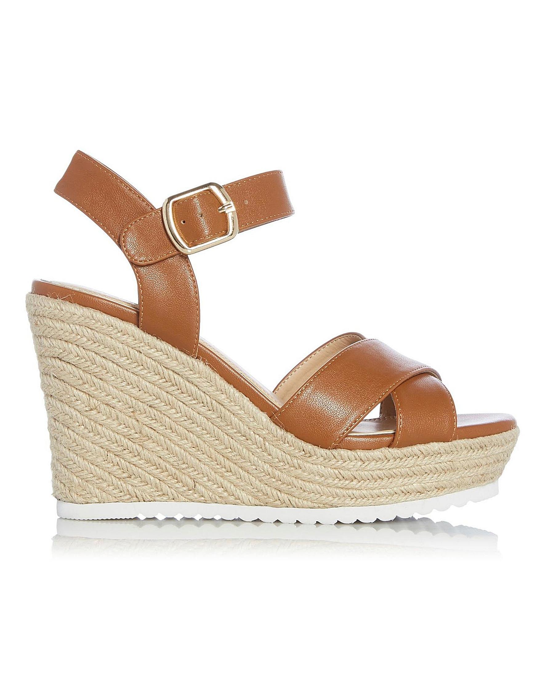 Wedge Heels Head Katyaa Over Sandals j3AR54L