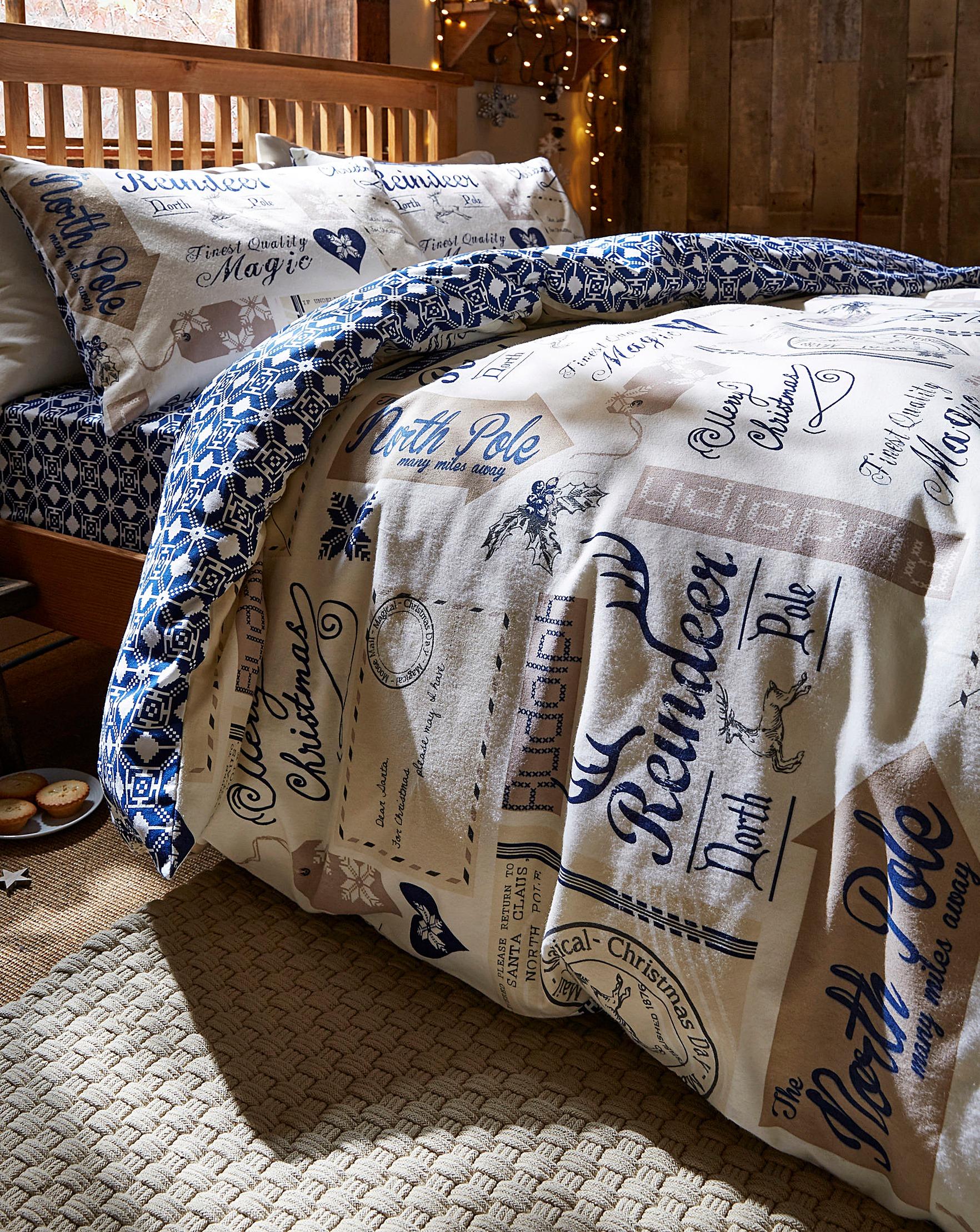 Christmas Bedding.North Pole Christmas Bedding Bundle
