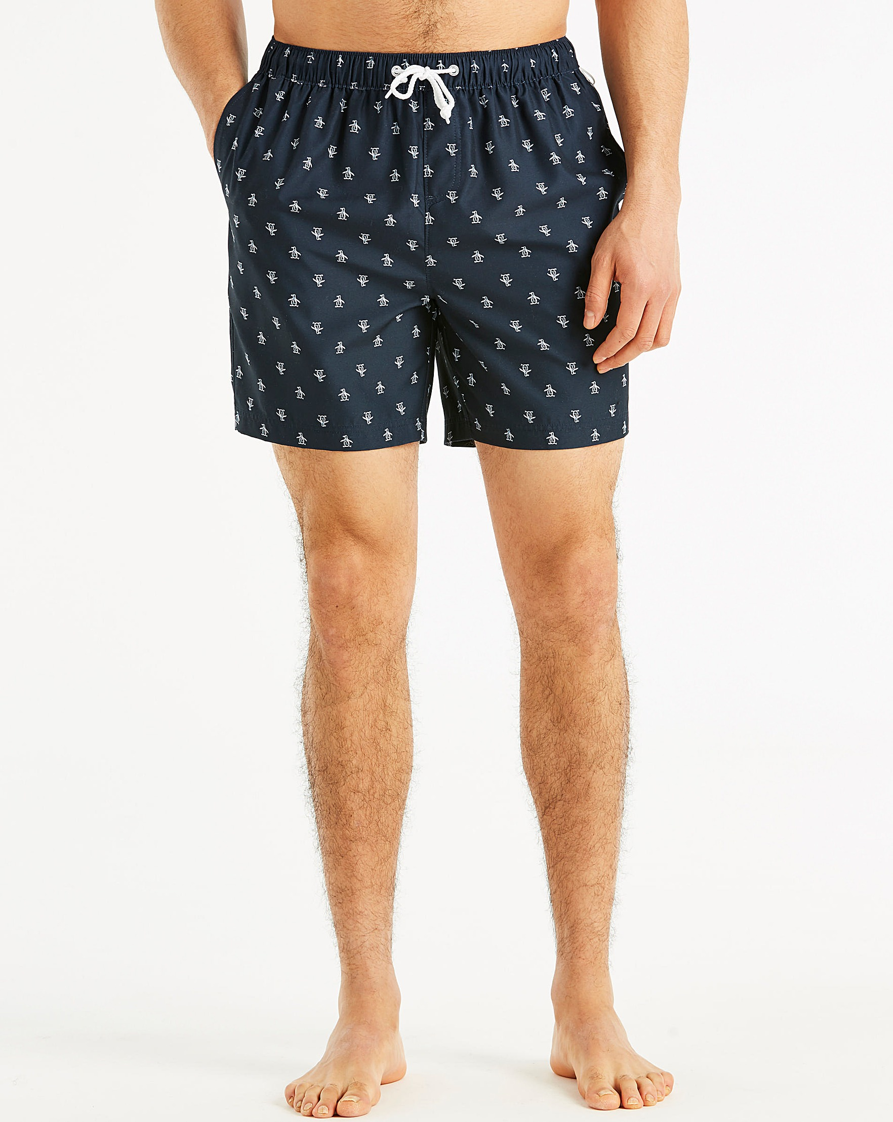 1c1bf2610e Original Penguin Re-Pete Swim Short | Jacamo