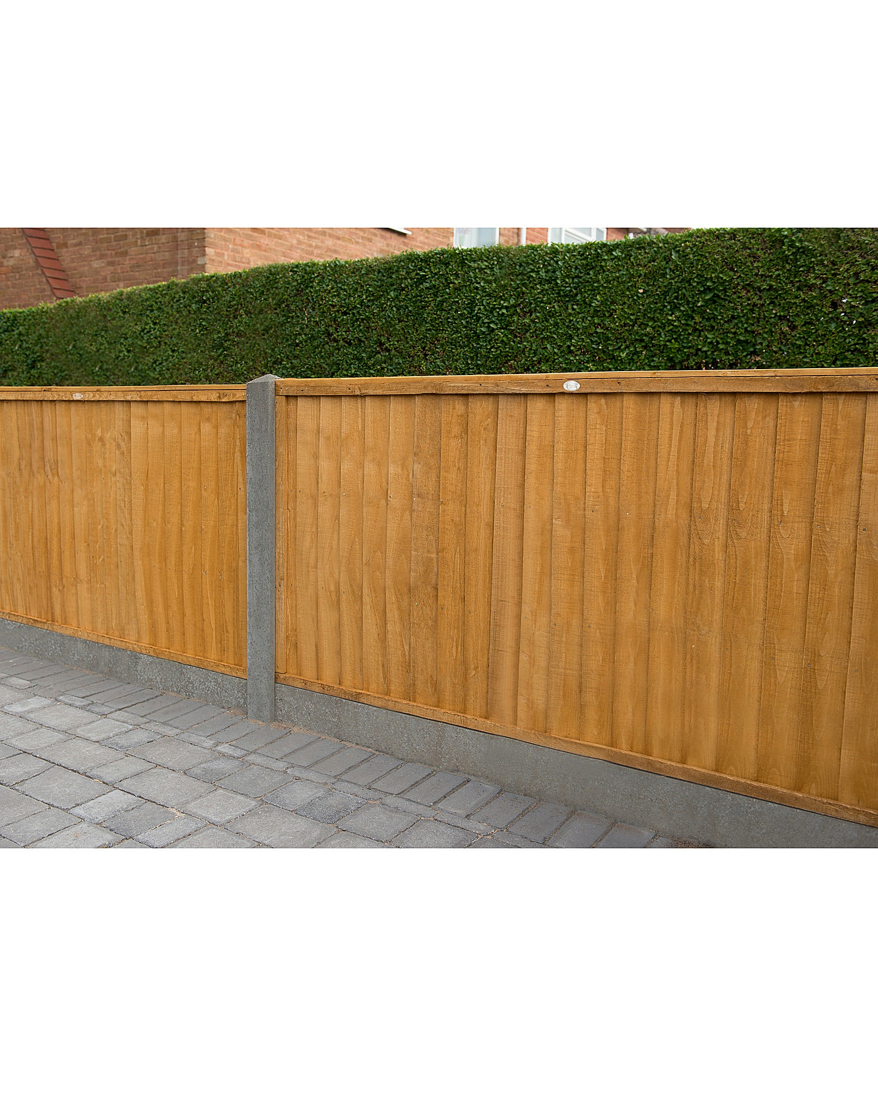 Pack of 5 Closeboard Fence Panels