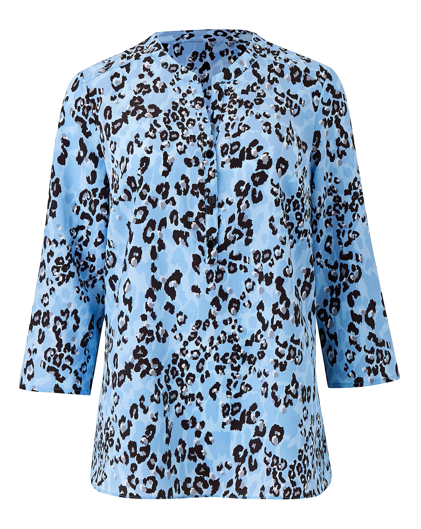 4456e51db9fbe3 Slimma Animal Print Blouse   Oxendales