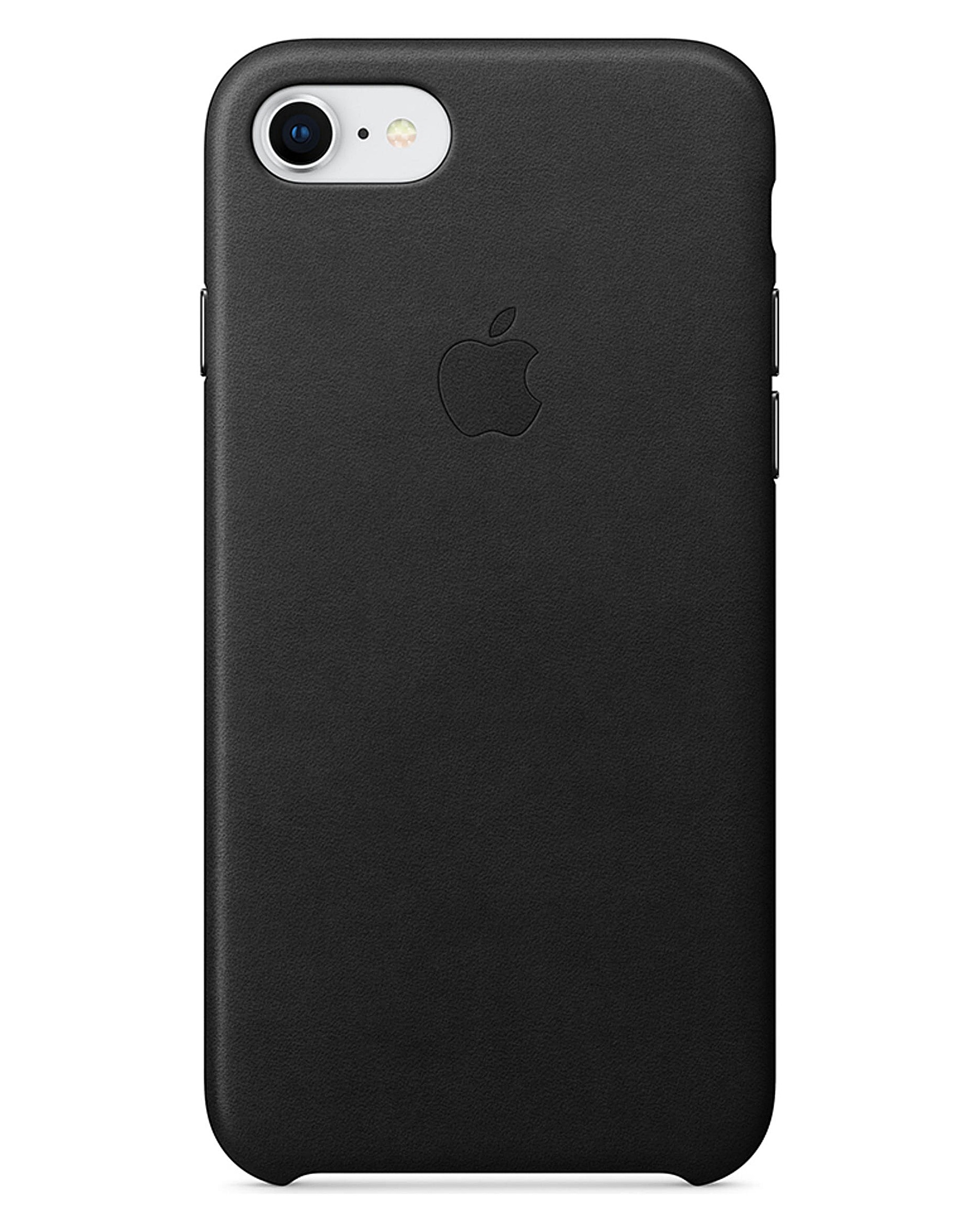best service 3fe33 88a0a Apple iPhone 7/8 Leather Case - Black
