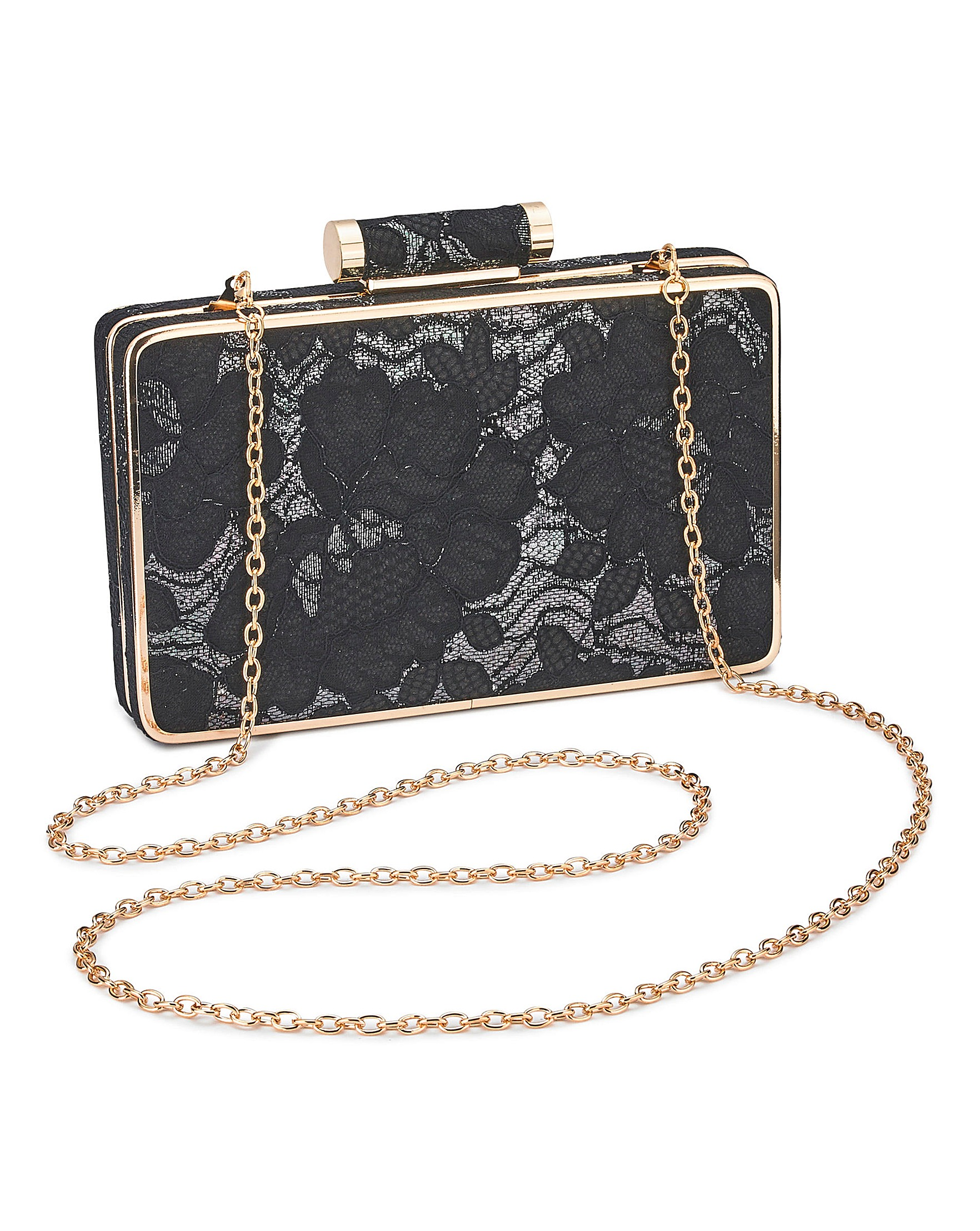 aaa03c2e0827 Oasis Lace Clutch Bag   Oxendales