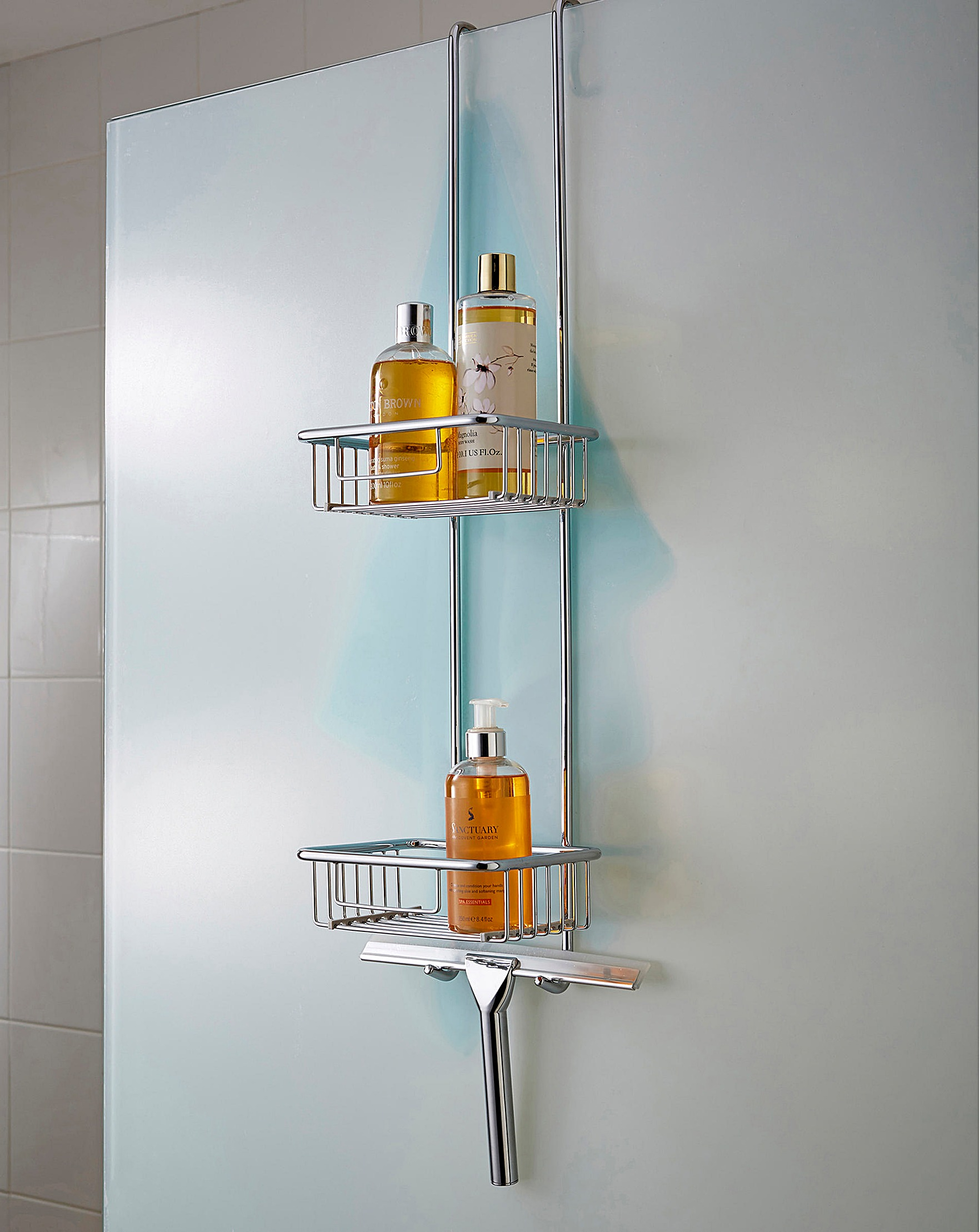 Shower Caddy with Squeegee | House of Bath