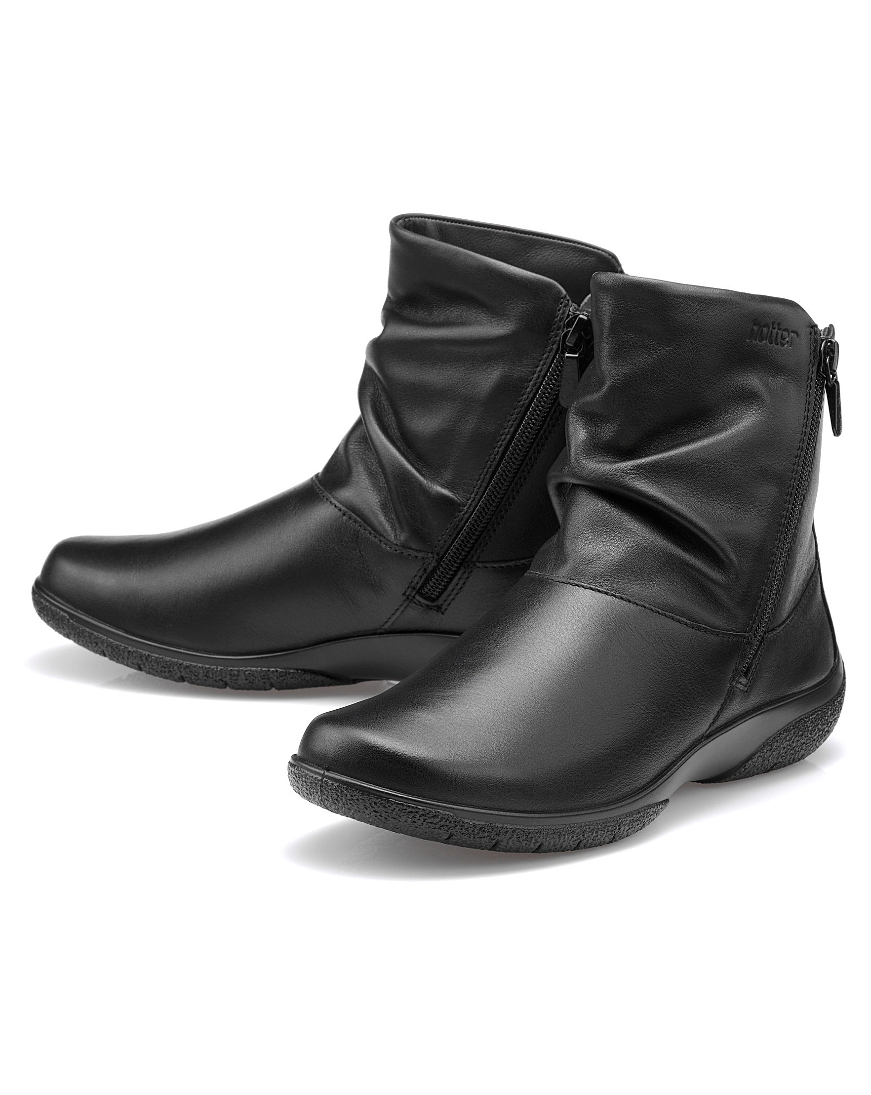 15e0a2057e6fc Hotter Whisper Standard Fit Ankle Boot | J D Williams