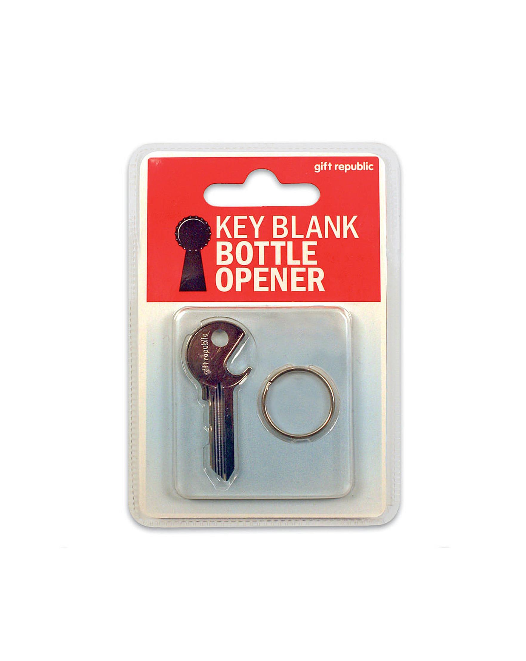 Key Blank Bottle Opener J D Williams Scooter Vip Keychain
