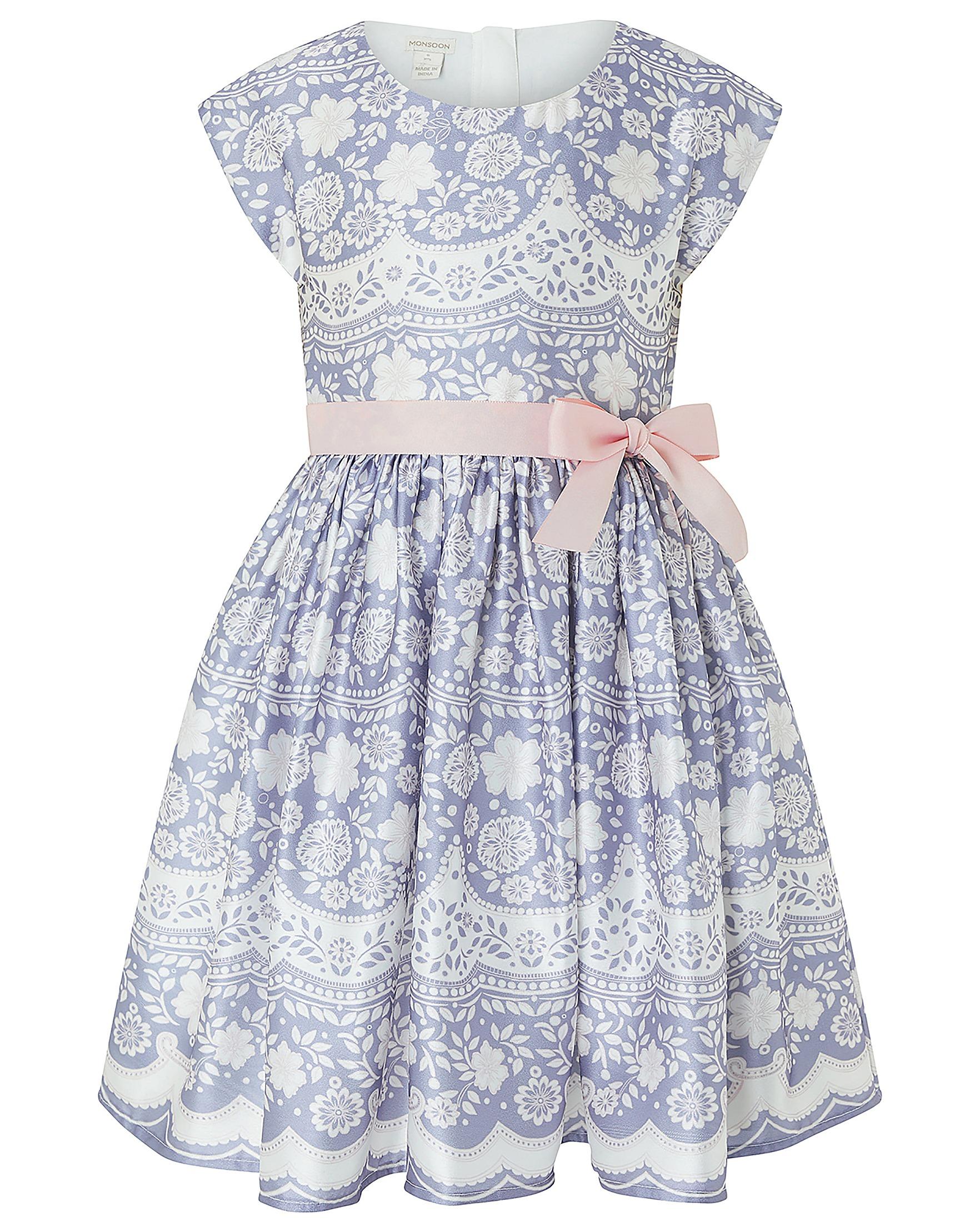 22d48467cd31 Monsoon Otylia Lace Print Dress