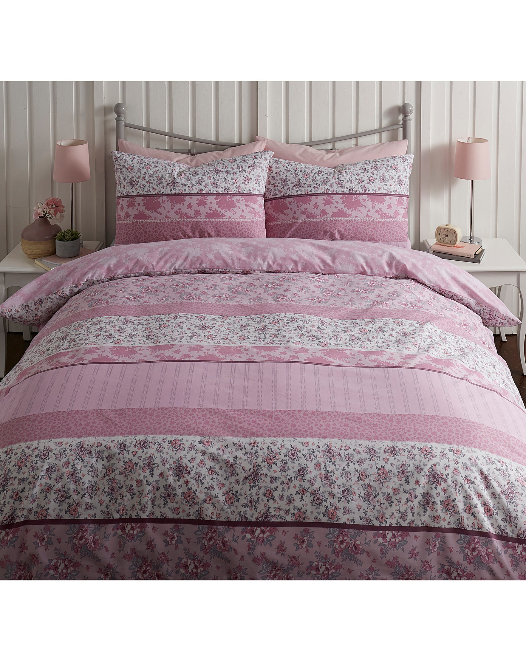 Zoe Printed Duvet Cover Set House Of Bath