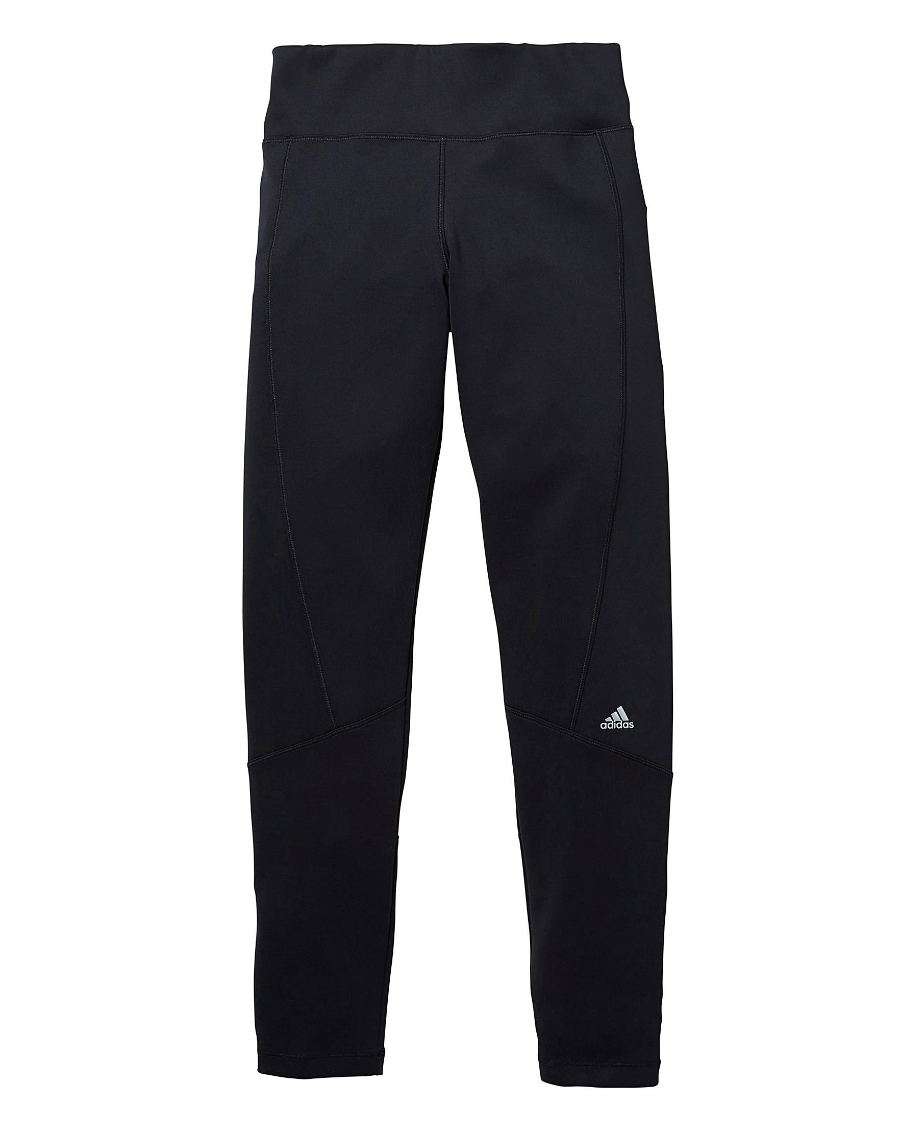 D Williams Girls Sports Leggings Adidas Black J TZqzWXW