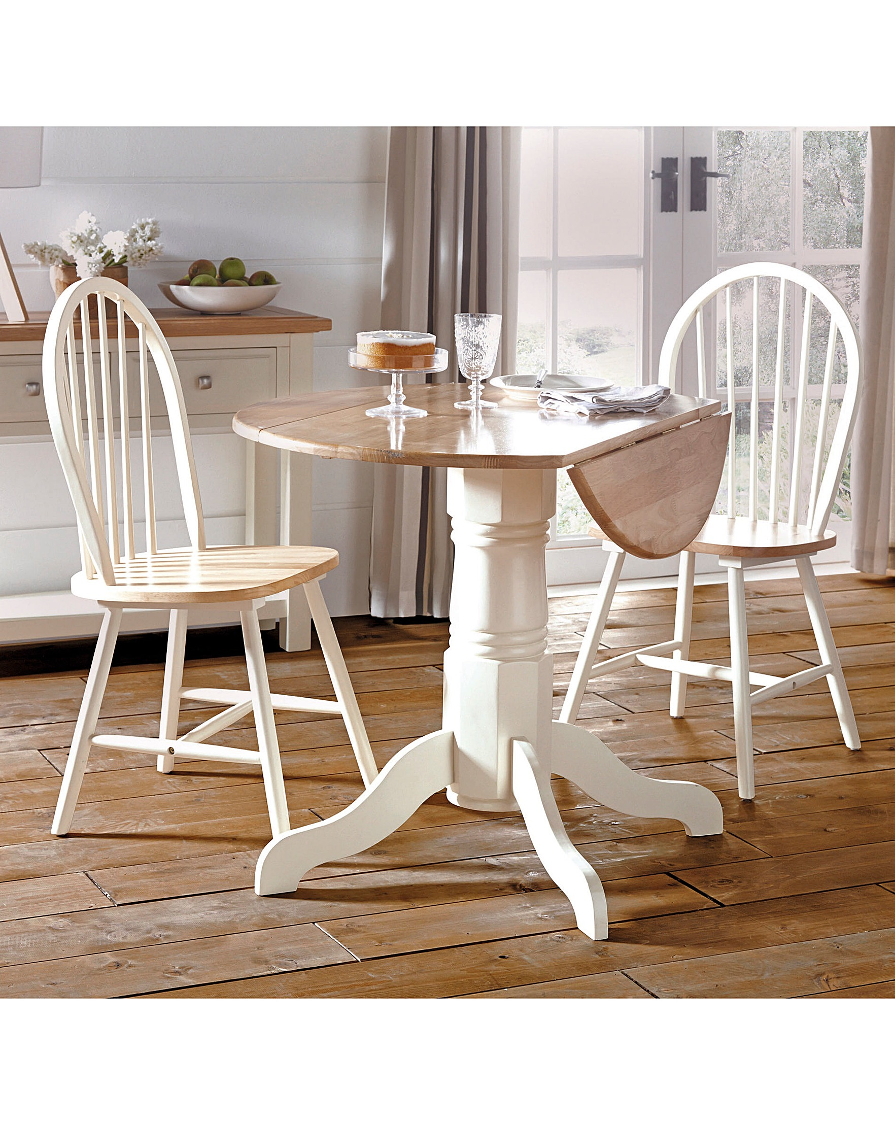 Padstow Drop Leaf Dining Table House Of Bath