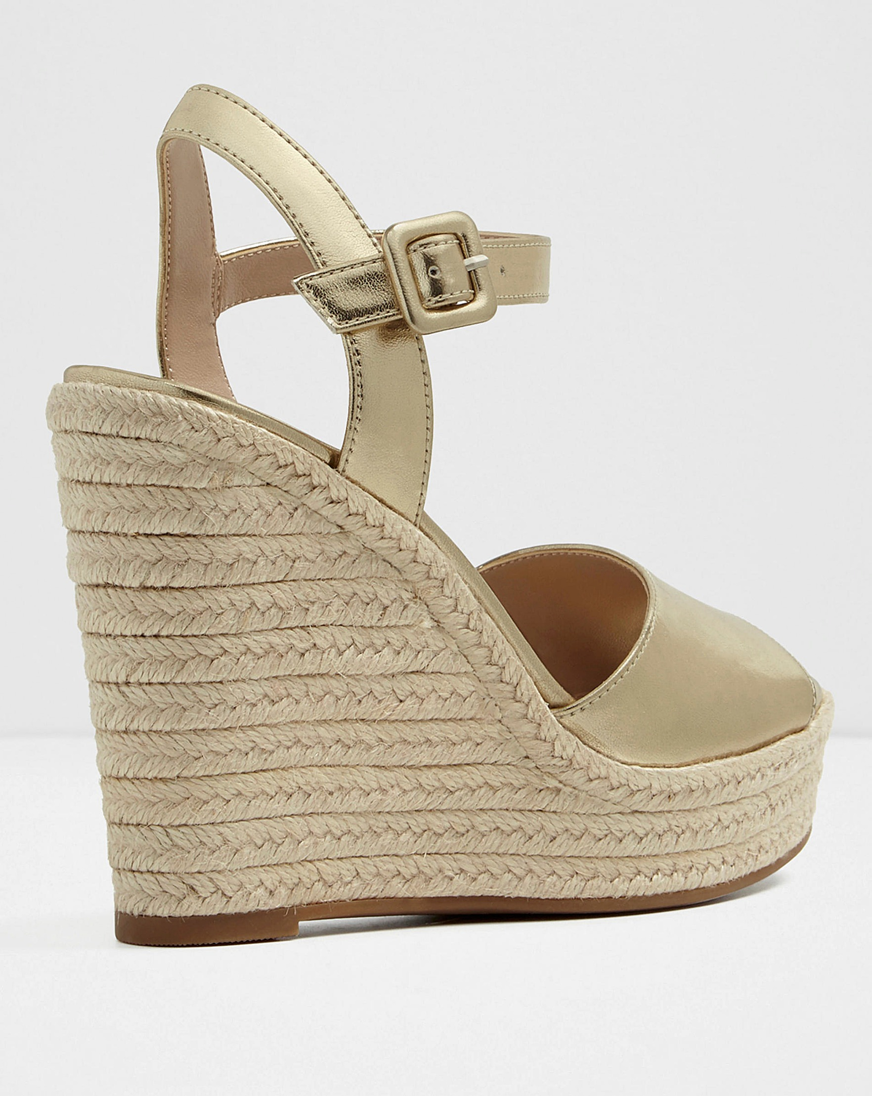 afe7c2d5b Aldo Ybelani Leather Espa Wedge S Fit | Simply Be