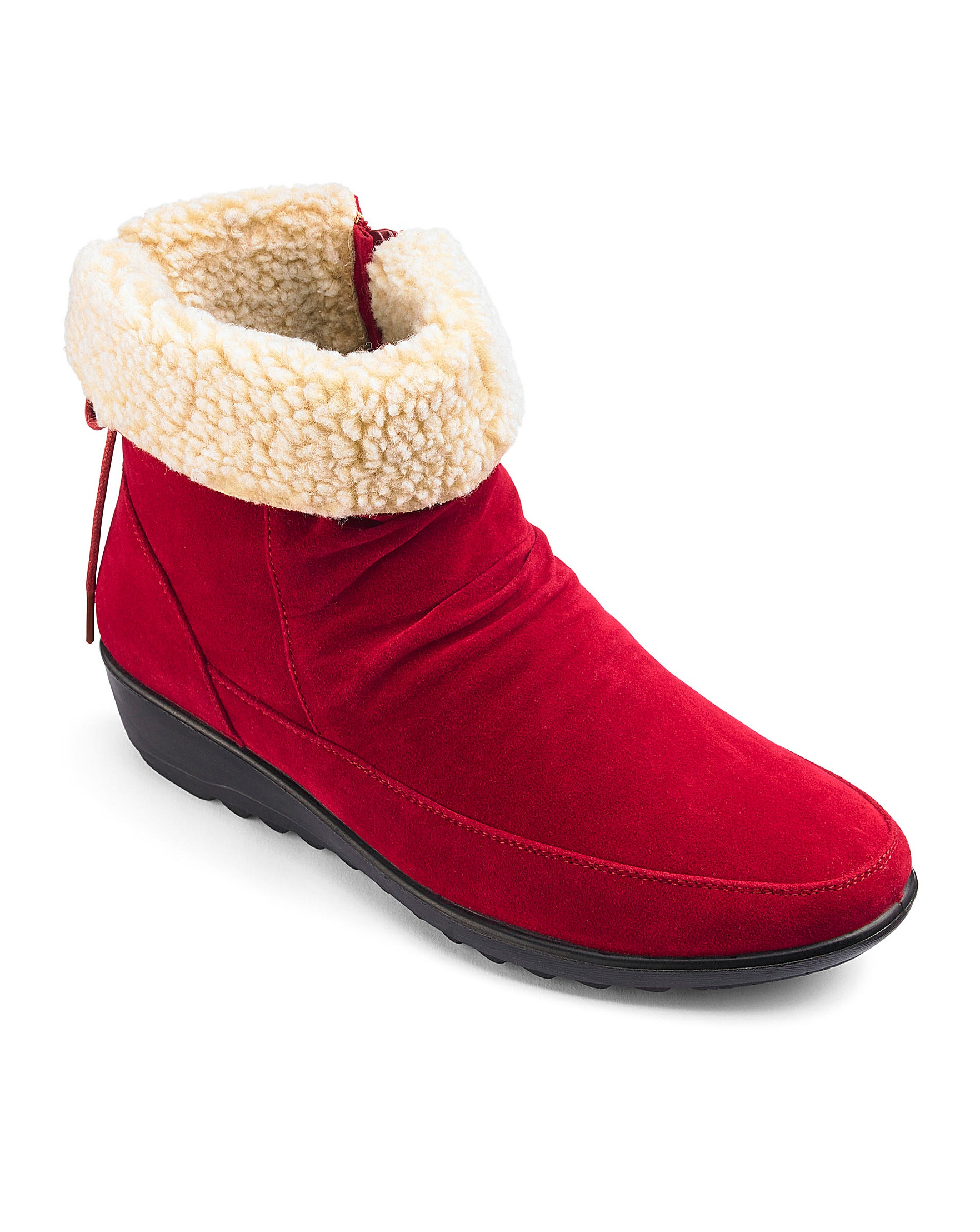 c211cb6c60c Cushion Walk Ankle Boots EEE Fit