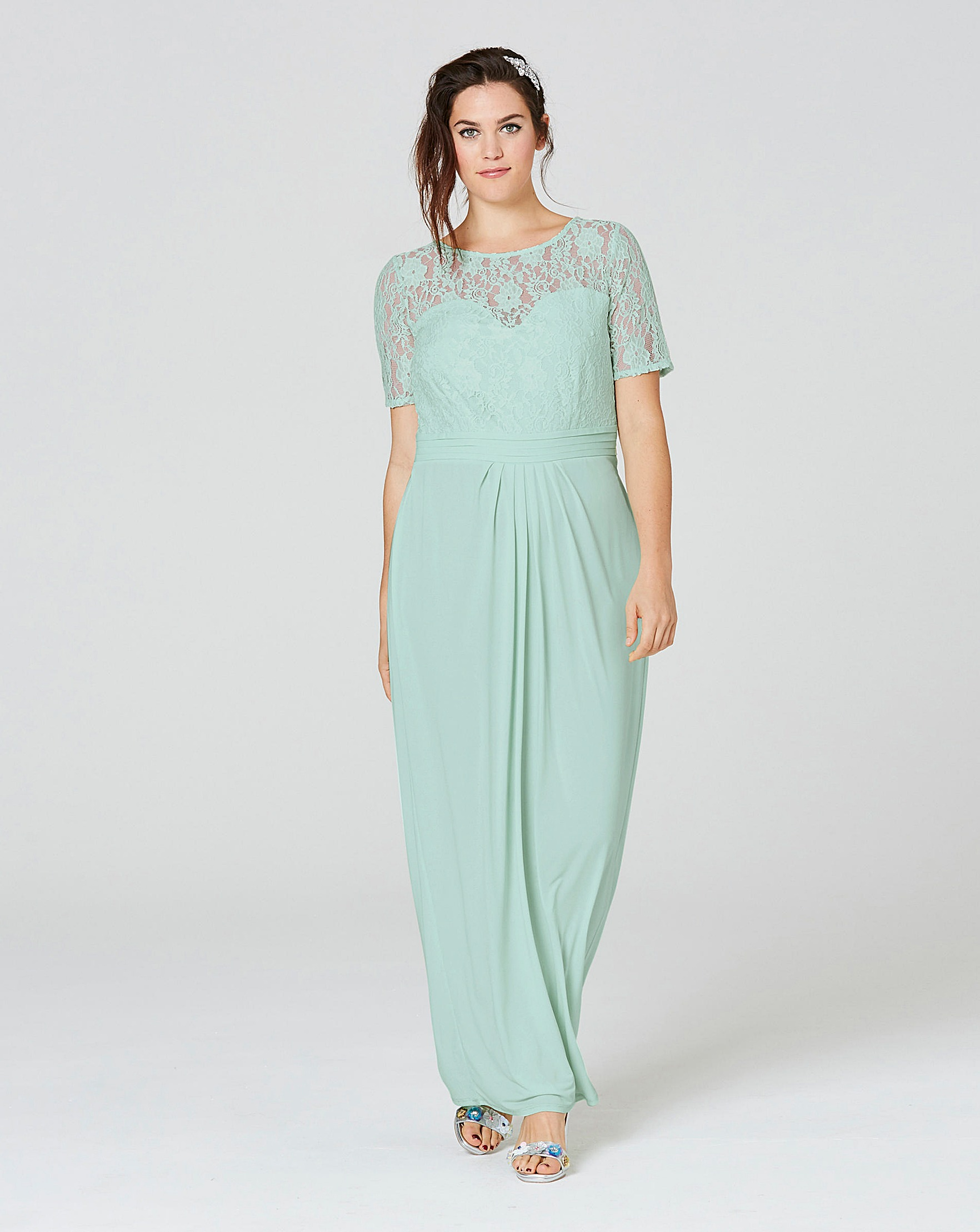 ITY Lace Bodice Maxi Dress | Simply Be