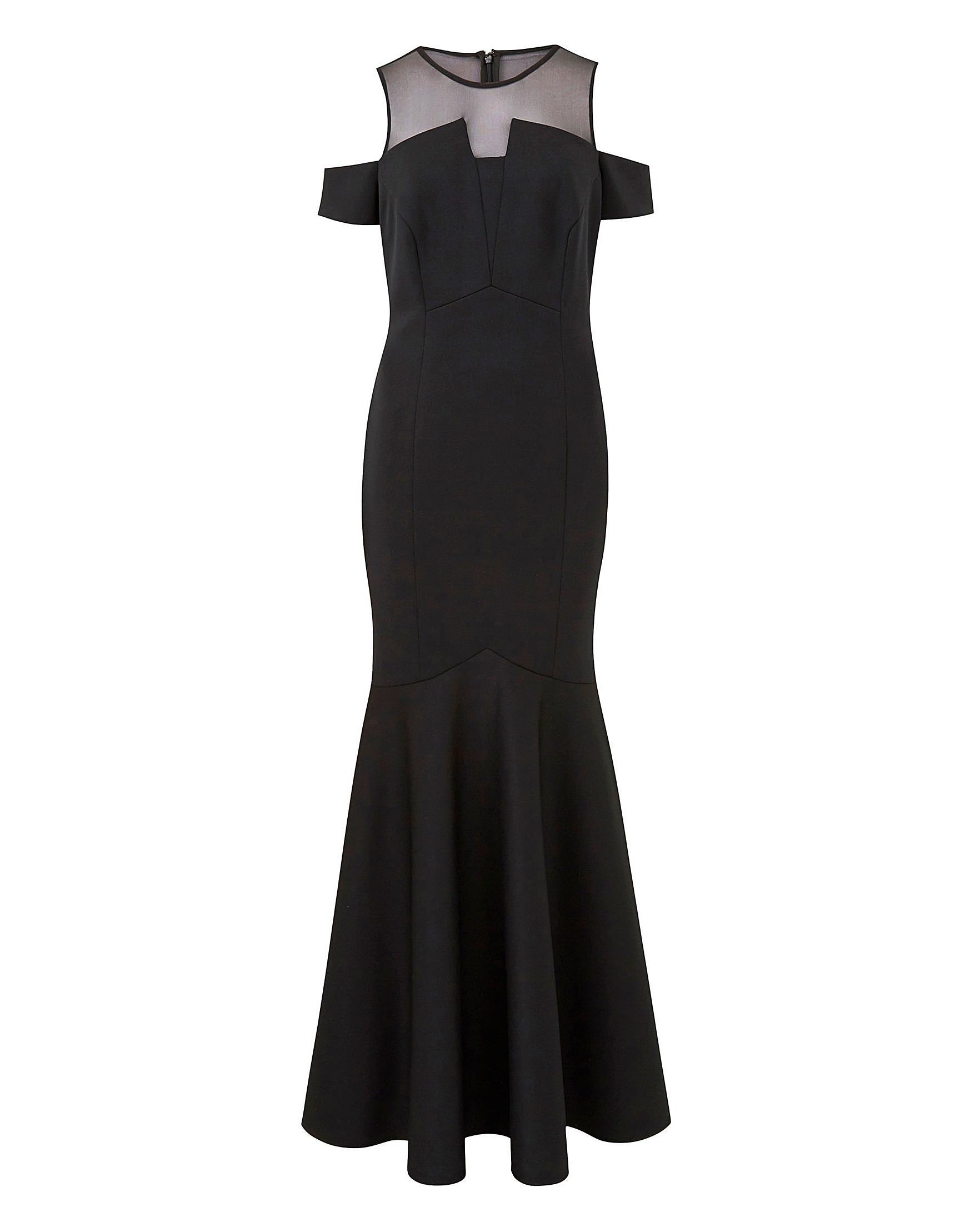 44cc2296cf20 Coast Lorna Scuba Maxi Dress | Simply Be