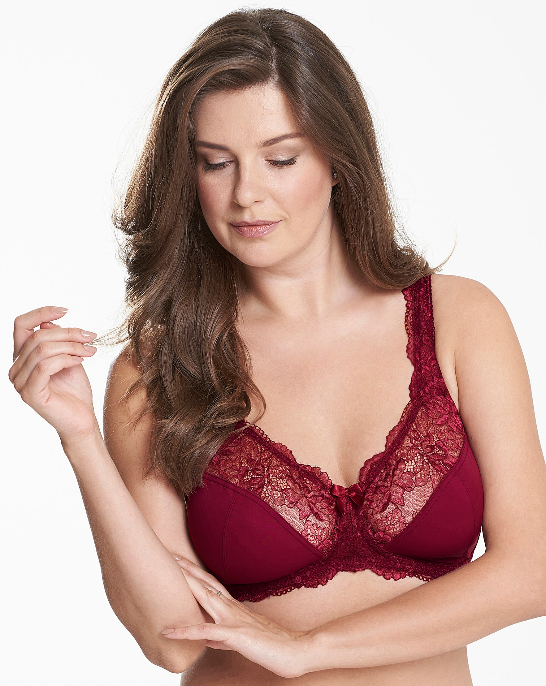 8acd7e0a837 2 Pack Ella Berry Mocha Non Wired Bras
