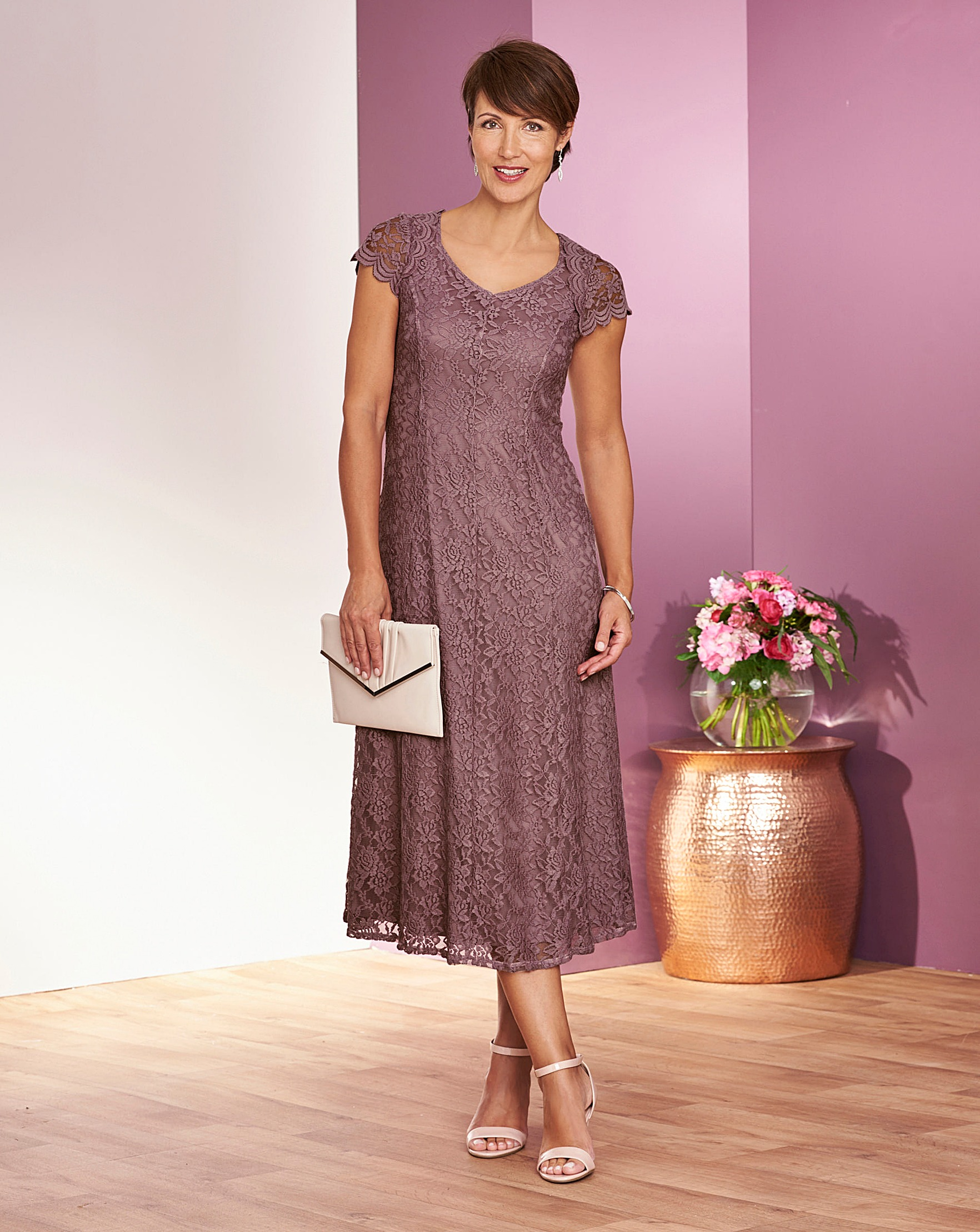 c4f33d7c0 Dusky Pink Lace Dress Uk