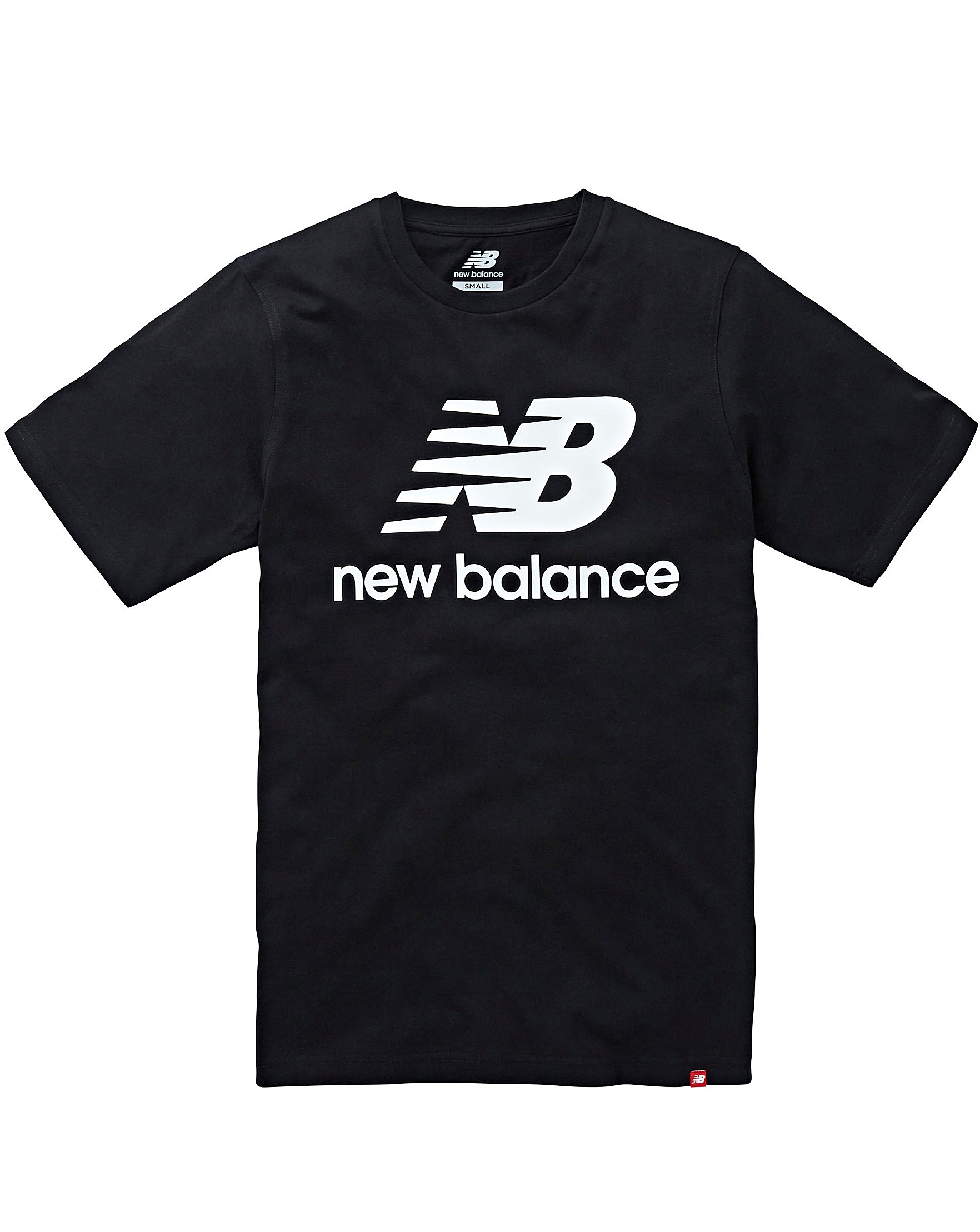 f9eb3a5bd73e7 New Balance Essentials Stacked Logo Tee | Oxendales