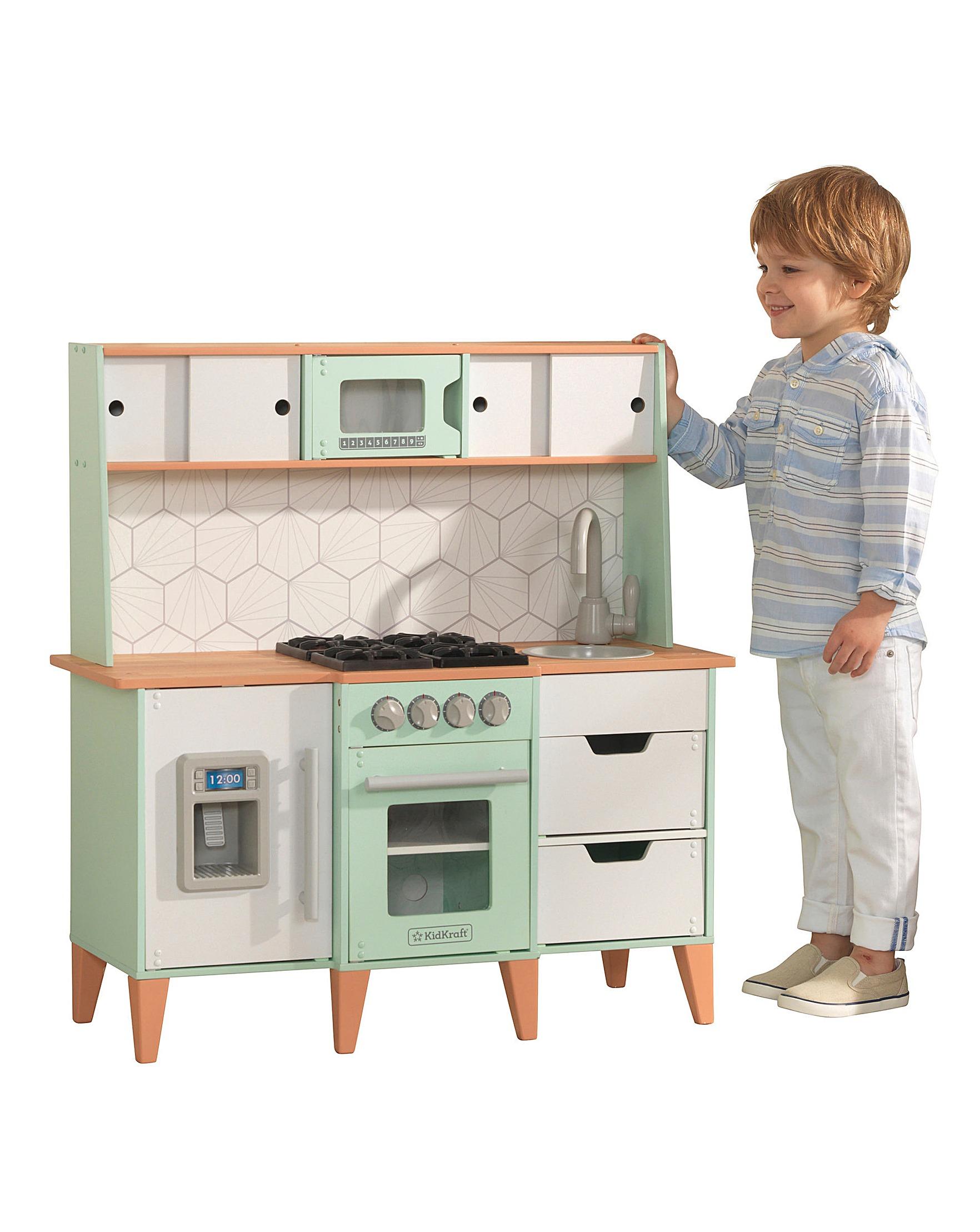 Kidkraft Mid Century Modern Play Kitchen