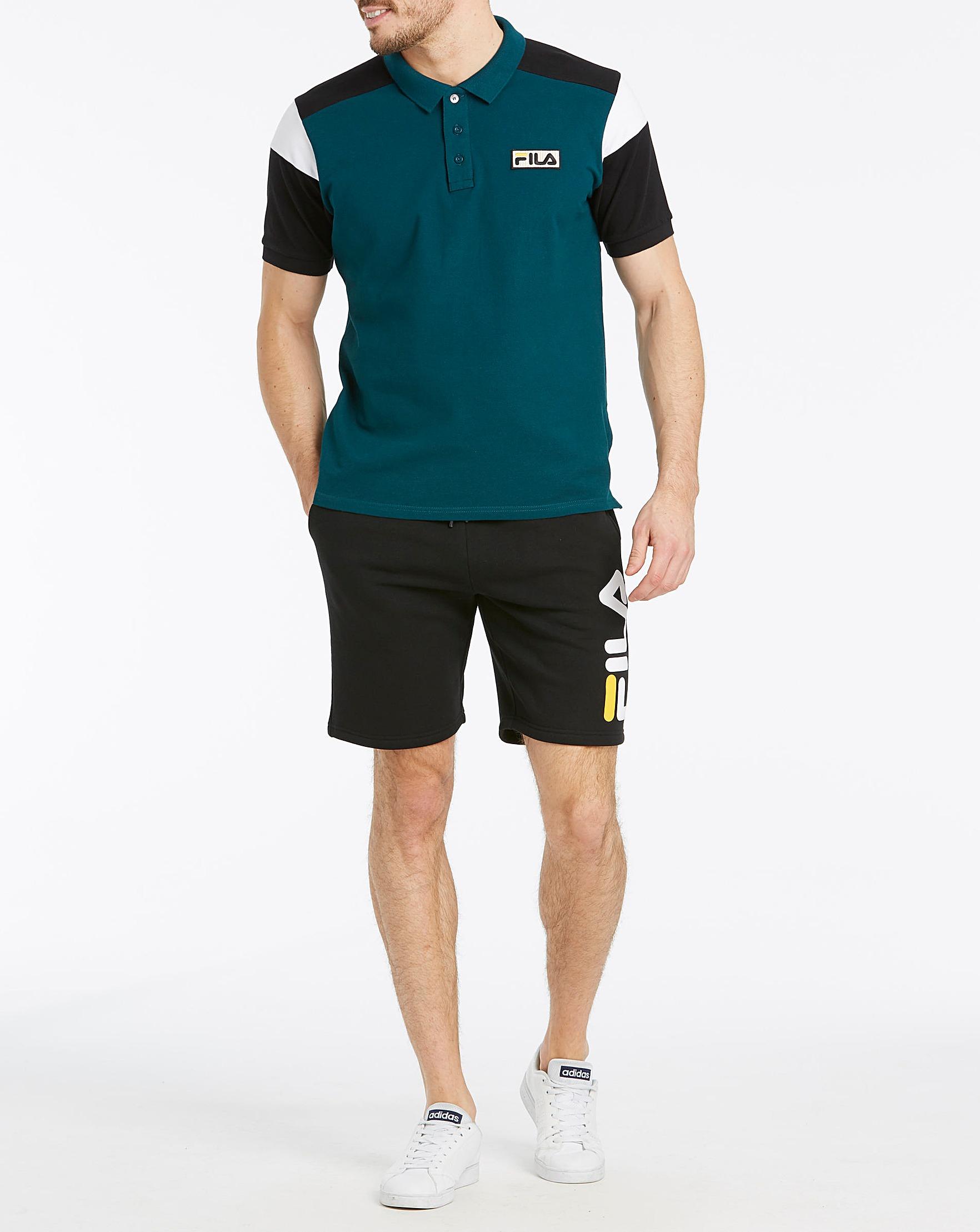 0adea87811dc5 Fila Lucian Fleece Jog Short | J D Williams