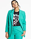 Mix and Match Green Fashion Blazer